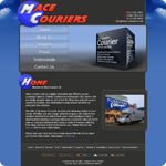 Mace Couriers Website