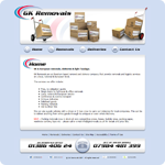GK Removals Website