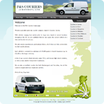 P&S Couriers Website