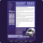 Handy Vans Website